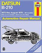 Datsun owners workshop manual