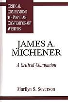 James A. Michener a critical companion