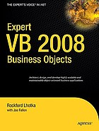 Expert C♯ 2008 business objects