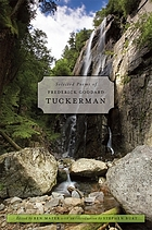 Selected poems of Frederick Goddard Tuckerman