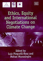 Ethics, equity, and international negotiations on climate change