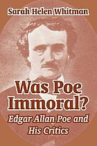 Was Poe immoral?
