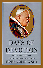 Days of devotion : daily meditations from the good shepherd