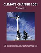 Climate change 2001 : mitigation : summary for policymakers