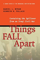 Things fall apart : containing the spillover from an Iraqi civil war