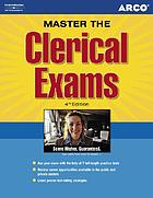Clerical exams Clerical Exams 4th edition Arco Clerical Exams