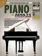 Progressive piano for adults