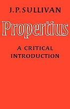Propertius : a critical introduction