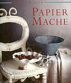Papier mache project book