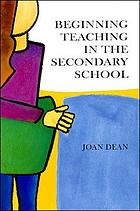 Beginning teaching in the secondary school