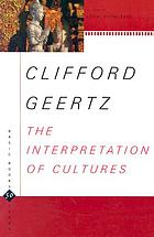 The interpretation of cultures : selected essays