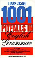 Barron's 1001 pitfalls in English grammar