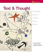 Text & thought : an integrated approach to college reading & writing