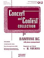 Concert and contest collection : for B♭ clarinet with piano accompaniment