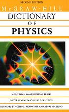 McGraw-Hill dictionary of physics