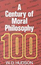 A century of moral philosophy