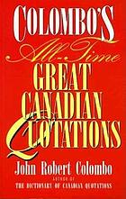 Colombo's Canadian quotations