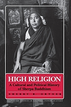 High religion : a cultural and political history of Sherpa Buddhism
