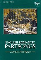 English romantic partsongs