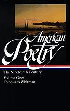 American poetry : the nineteenth century