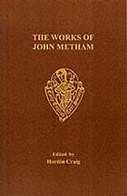 The works of John Metham, including the romance of Amoryus and Cleopes