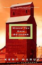 Where you once belonged : a novel
