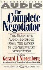 The complete negotiator