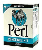 Perl resource kit -- UNIX edition