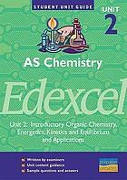 AS chemistry, unit 2, Edexcel