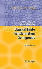 Classical finite transformation semigroups : an introduction