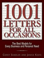 1,001 letters for all occasions : the best models for every business and personal need