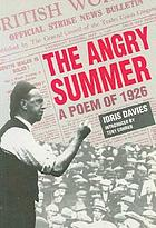 The angry summer : a poem of 1926