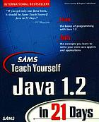 Sams teach yourself Java 1.2 in 21 days