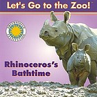 Rhinoceros's bathtime