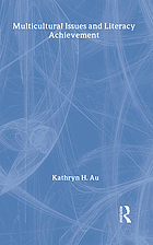 Multicultural issues and literacy achievement