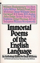 Immortal poems of the English language : an anthology