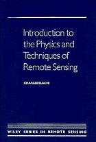 Physics and techniques of remote sensing
