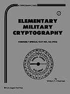 Elementary military cryptography
