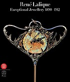 René Lalique : exceptional jewellery 1890- 1912