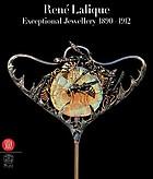 René Lalique : exceptional jewellery 1890- 1912