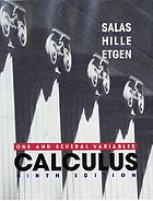 Calculus; one and several variables