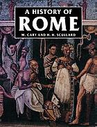 A history of Rome down to the reign of Constantine