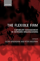 The flexible firm : capability management in network organizations