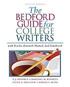 The Bedford guide for college writers : with reader, research manual, and handbook