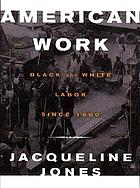American work : four centuries of black and white labor