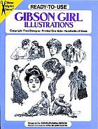 Ready-to-use Gibson girl illustrations : copyright-free designs, printed one side, hundreds of uses