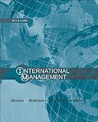 International management : text and cases