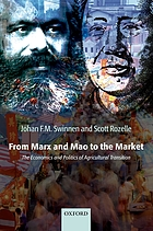 From Marx and Mao to the market : the economics and politics of agricultural transition