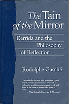 The tain of the mirror : Derrida and the philosophy of reflection