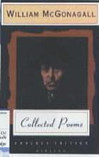 Poetic gems : selected from the works of William McGonagall, poet and tragedian